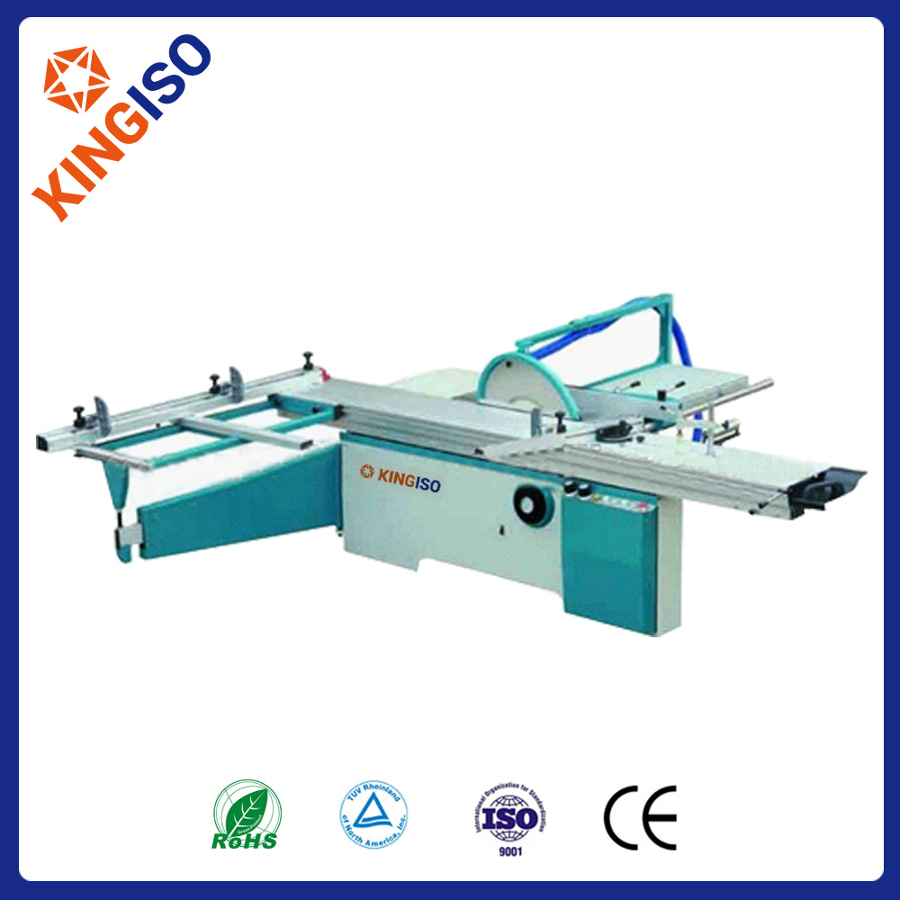 MJ6122TD woodworking precision sliding table sandwich wood cutting panel saw machine